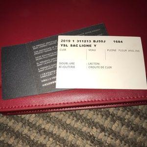 Bags - Maroon Leather Designer Purse